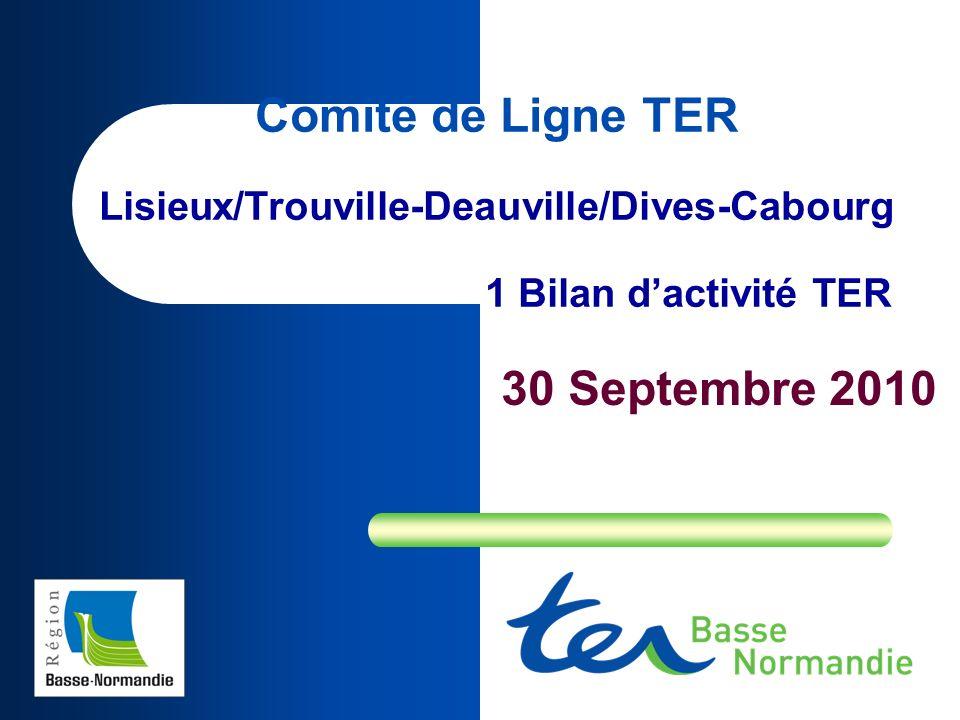 Comité de Ligne TER Lisieux/Trouville-Deauville/Dives-Cabourg
