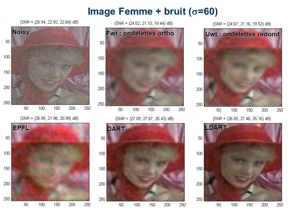 Image Femme + bruit (=60)