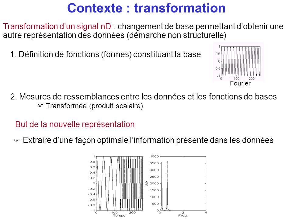 Contexte : transformation