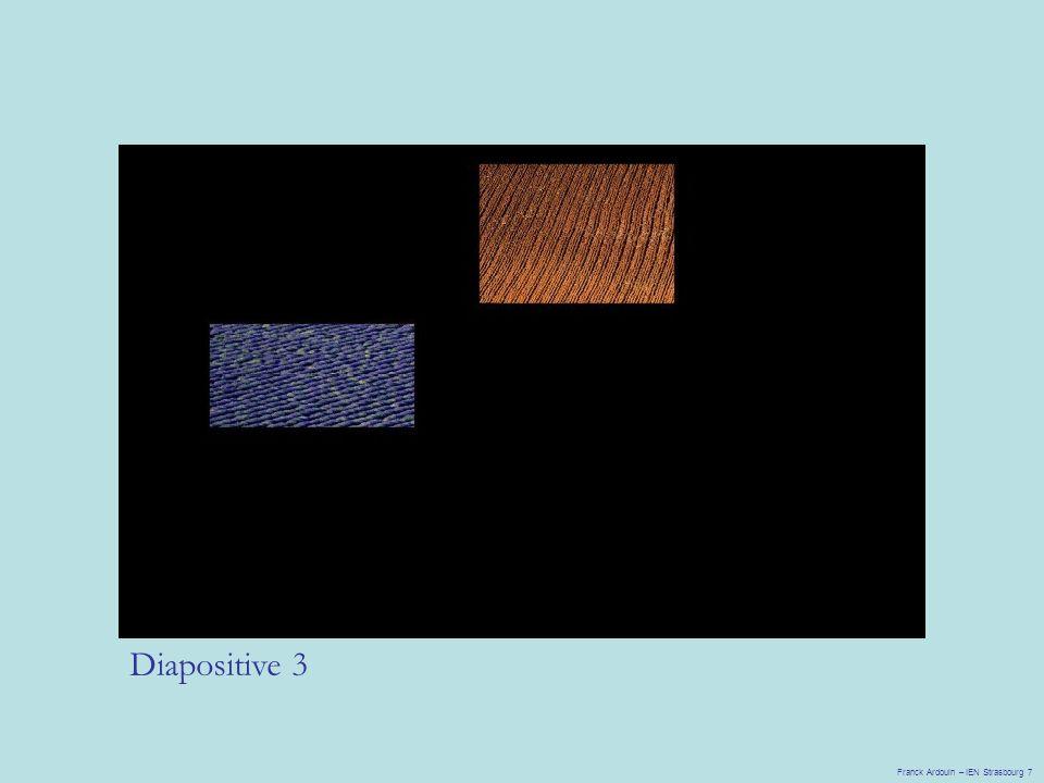 Diapositive 3 Franck Ardouin – IEN Strasbourg 7