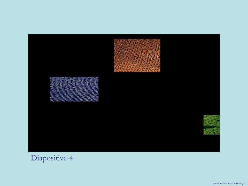 Diapositive 4 Franck Ardouin – IEN Strasbourg 7