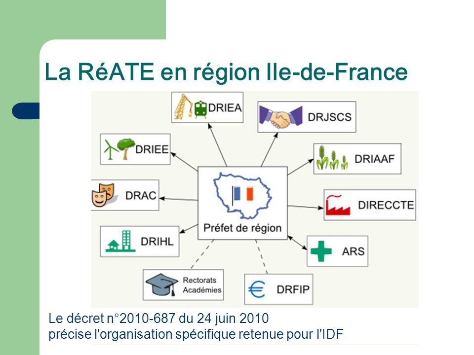 La RéATE en région Ile-de-France