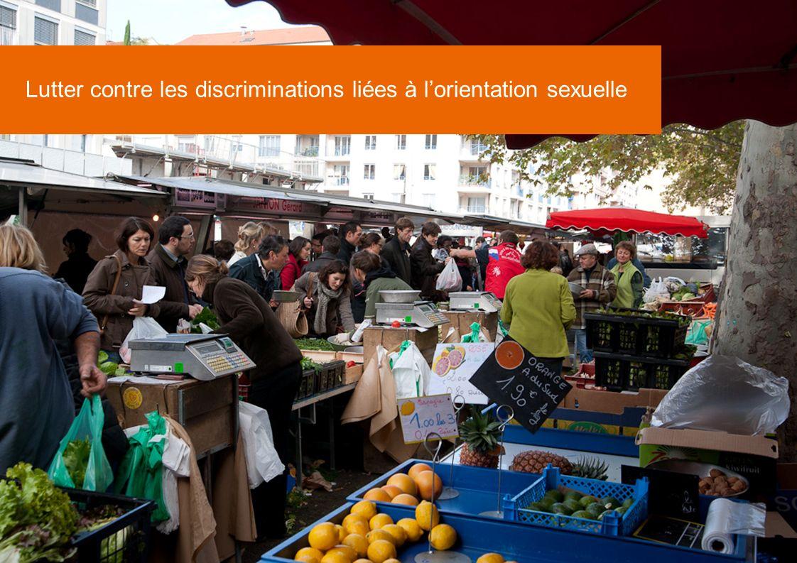Lutter contre les discriminations liées à l'orientation sexuelle