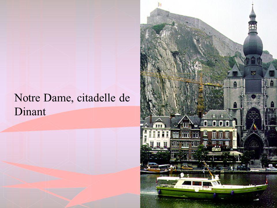 Notre Dame, citadelle de Dinant