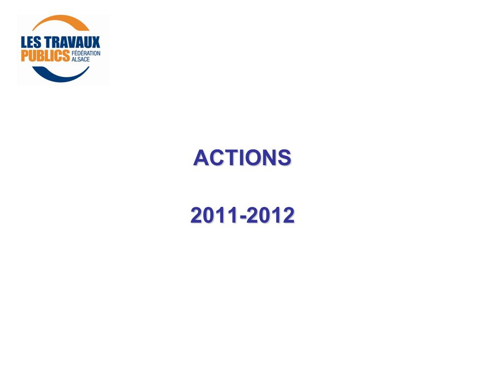 ACTIONS 2011-2012