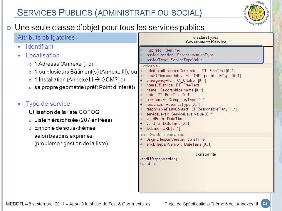 Services Publics (administratif ou social)