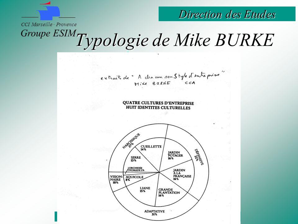 Typologie de Mike BURKE