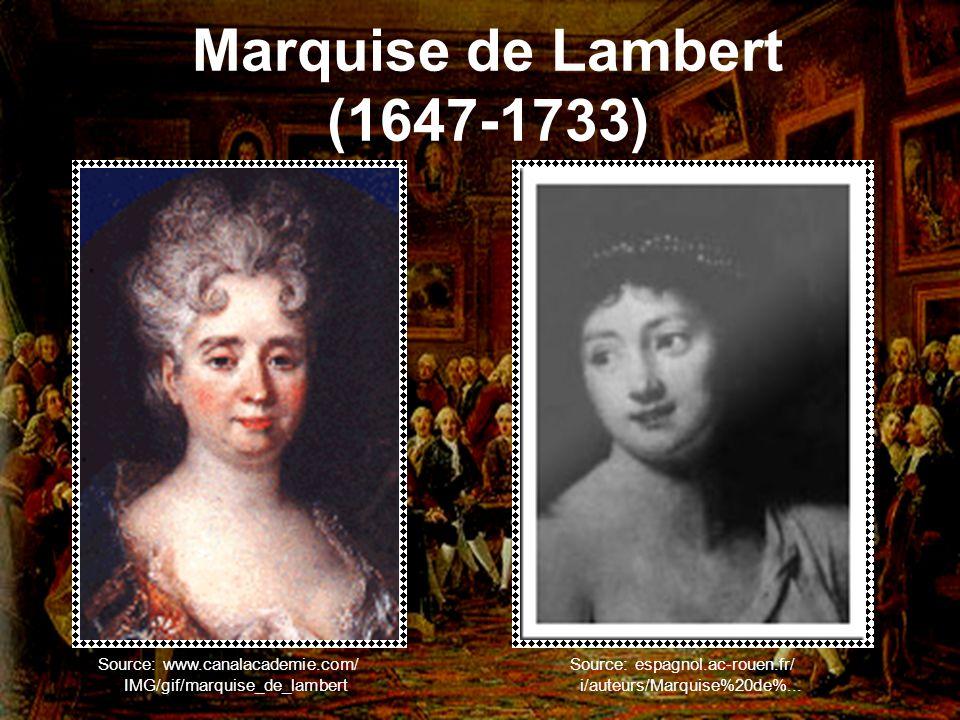Marquise de Lambert (1647-1733)