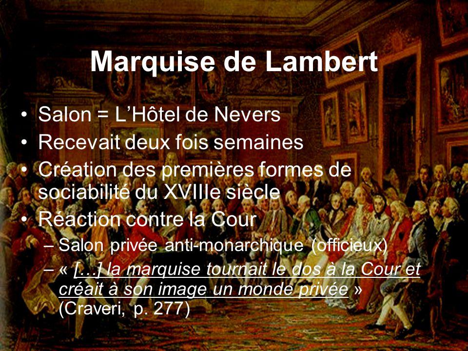 Marquise de Lambert Salon = L'Hôtel de Nevers