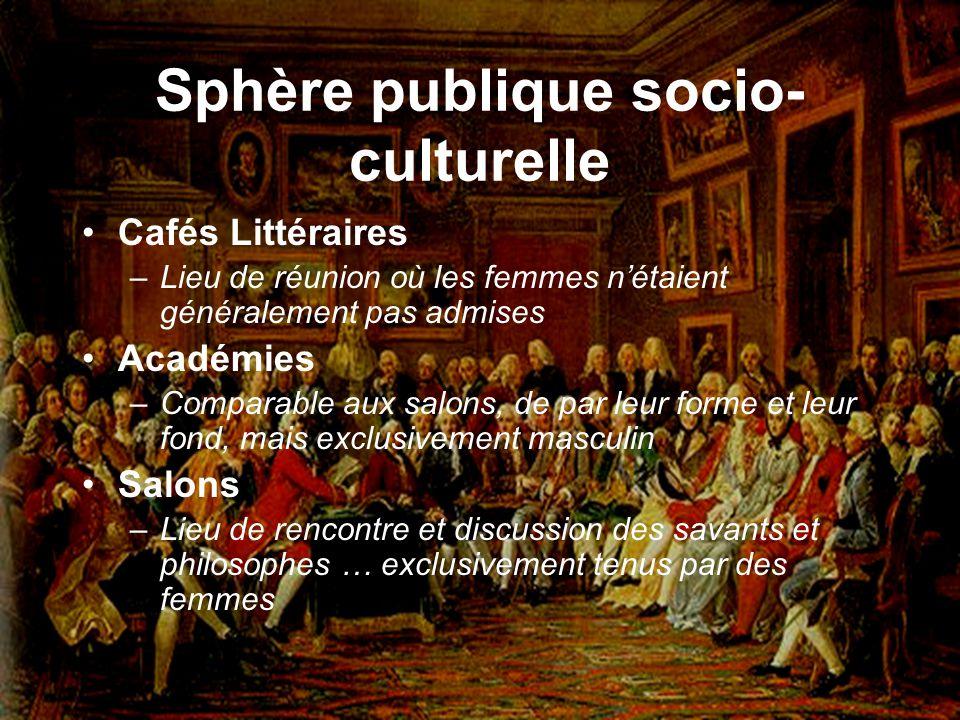 Sphère publique socio-culturelle