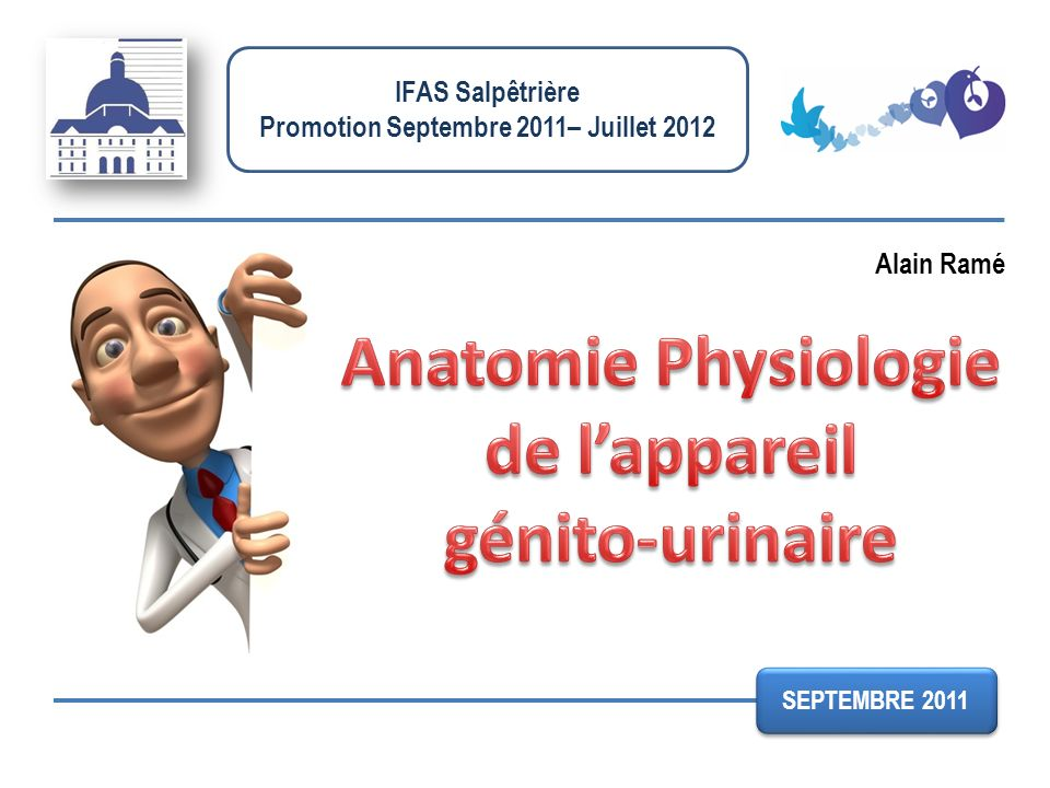 Promotion Septembre 2011– Juillet 2012