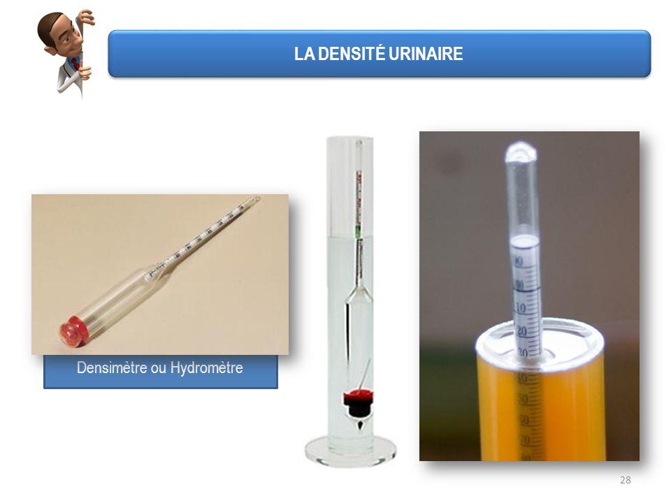 Densimètre ou Hydromètre