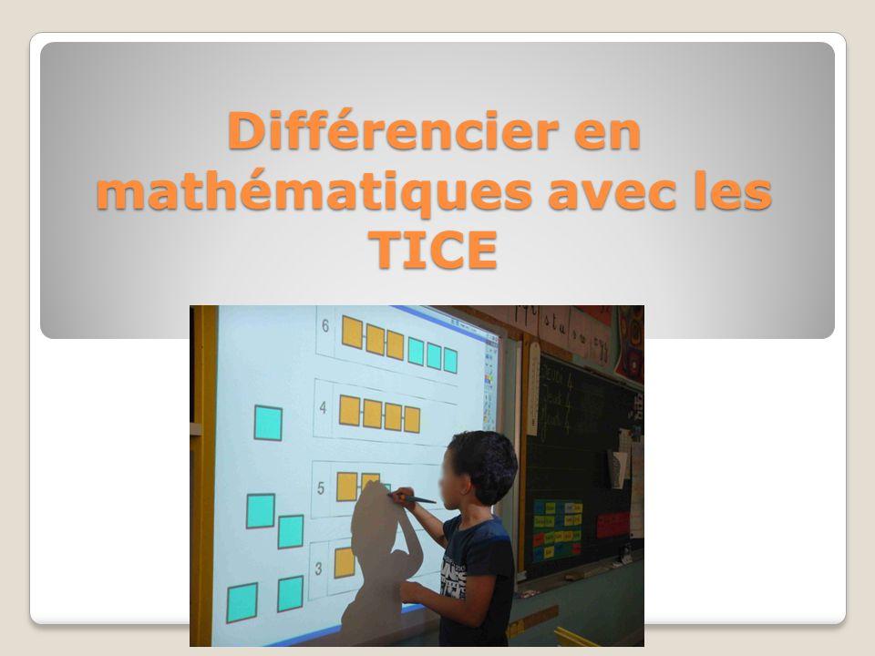 Différencier en mathématiques avec les TICE