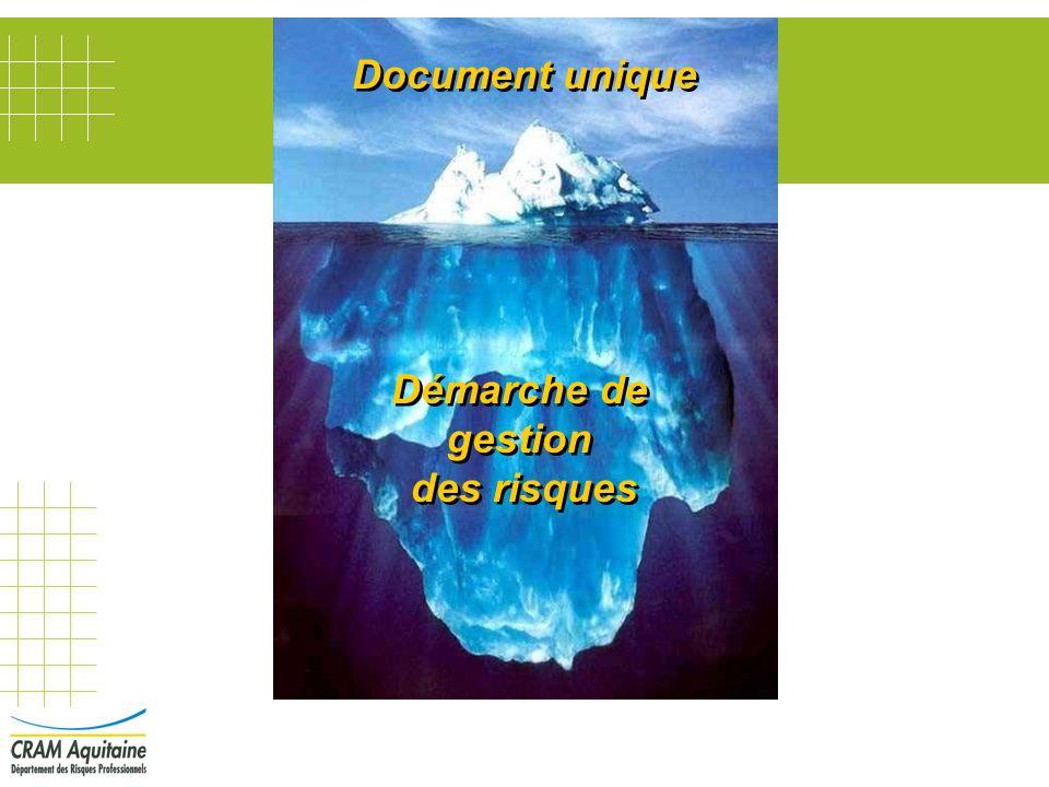 Démarche de gestion des risques