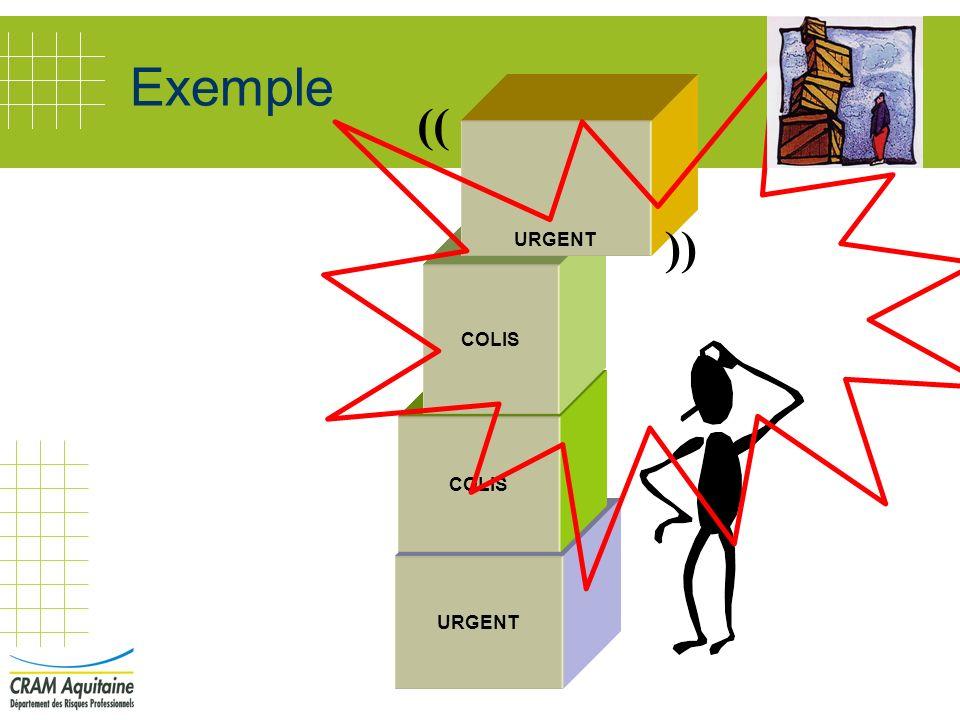 Exemple (( )) URGENT COLIS COLIS URGENT