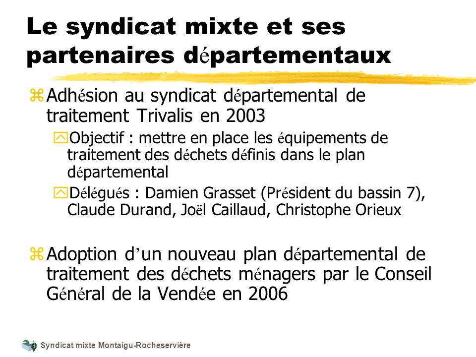 Le syndicat mixte et ses partenaires départementaux