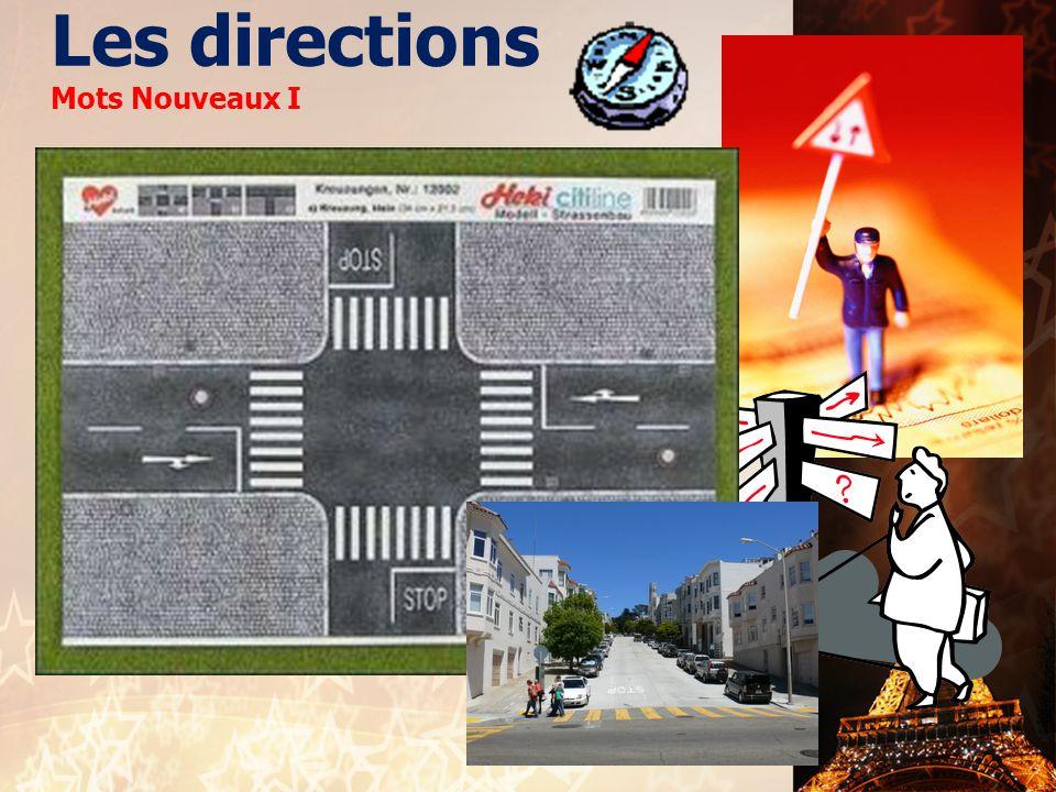 Les directions Mots Nouveaux I