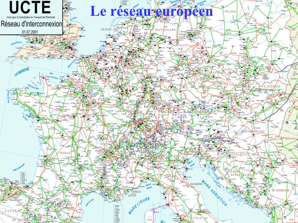 Le réseau européen