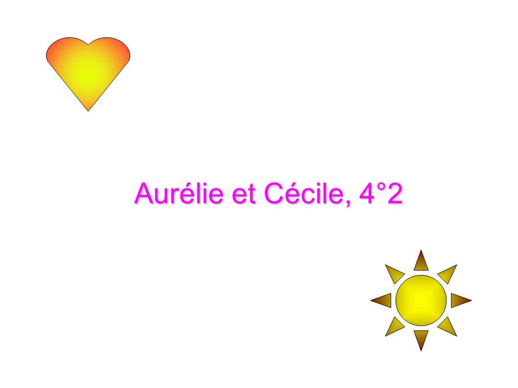 Aurélie et Cécile, 4°2