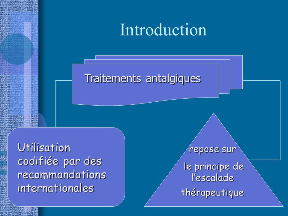 le principe de l'escalade thérapeutique