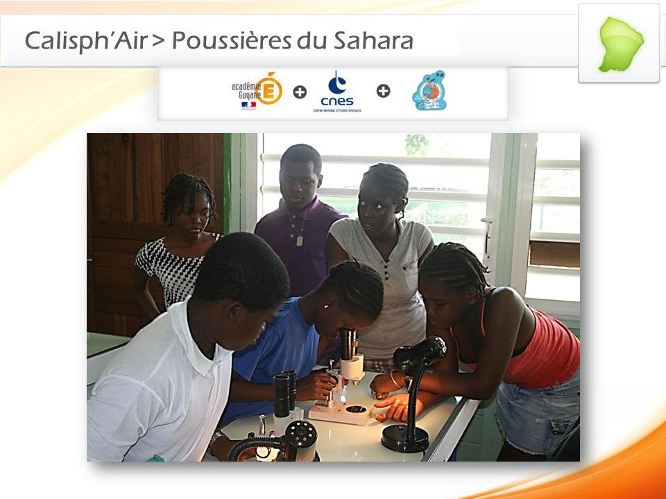 Calisph'Air > Poussières du Sahara