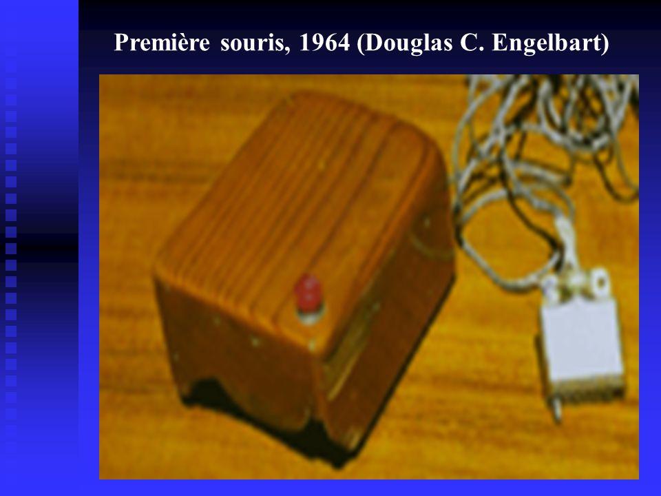 Première souris, 1964 (Douglas C. Engelbart)