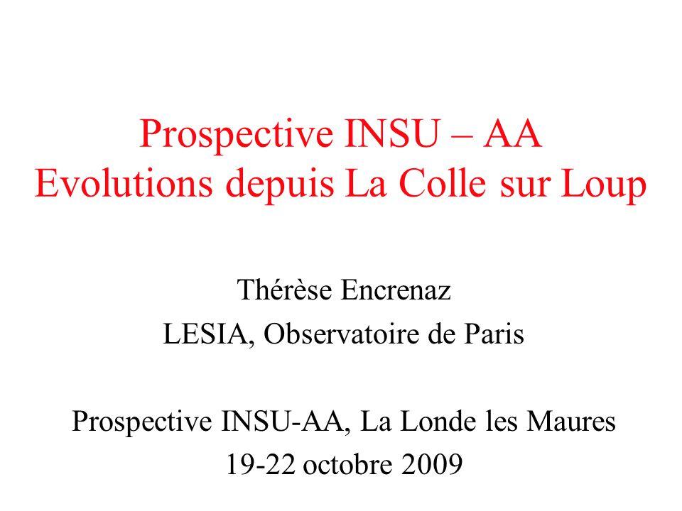 Prospective INSU – AA Evolutions depuis La Colle sur Loup