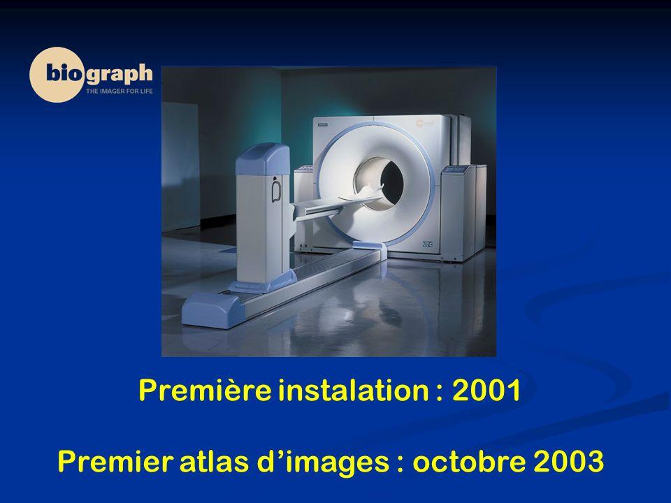 Première instalation : 2001 Premier atlas d'images : octobre 2003