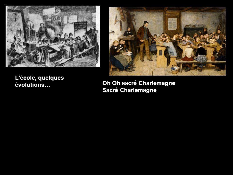 Charlemagne et l'école