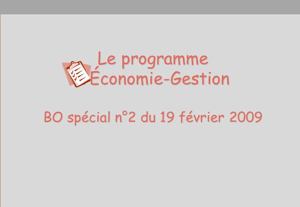 BO spécial n°2 du 19 février 2009