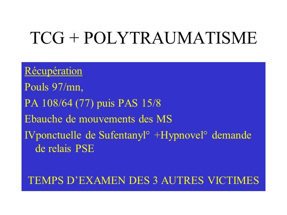 TEMPS D'EXAMEN DES 3 AUTRES VICTIMES