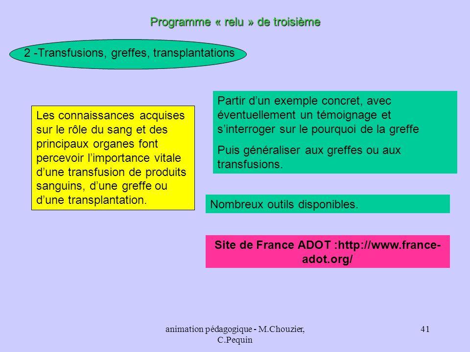 Site de France ADOT :http://www.france-adot.org/