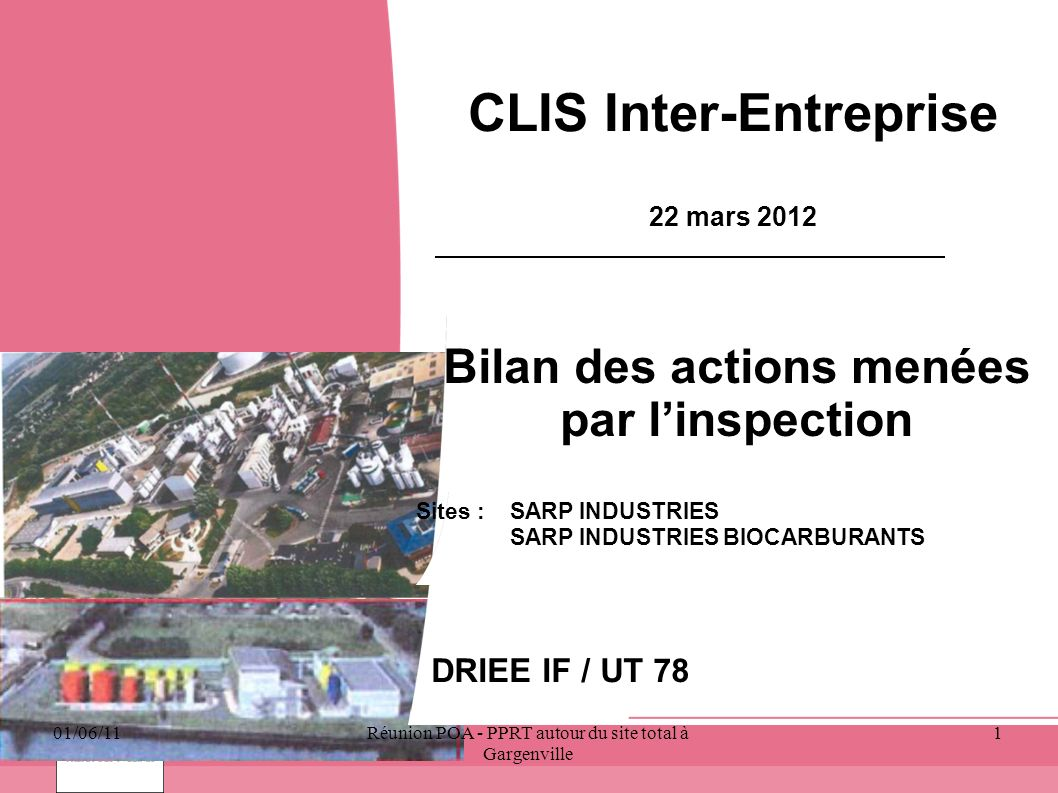 CLIS Inter-Entreprise 22 mars 2012