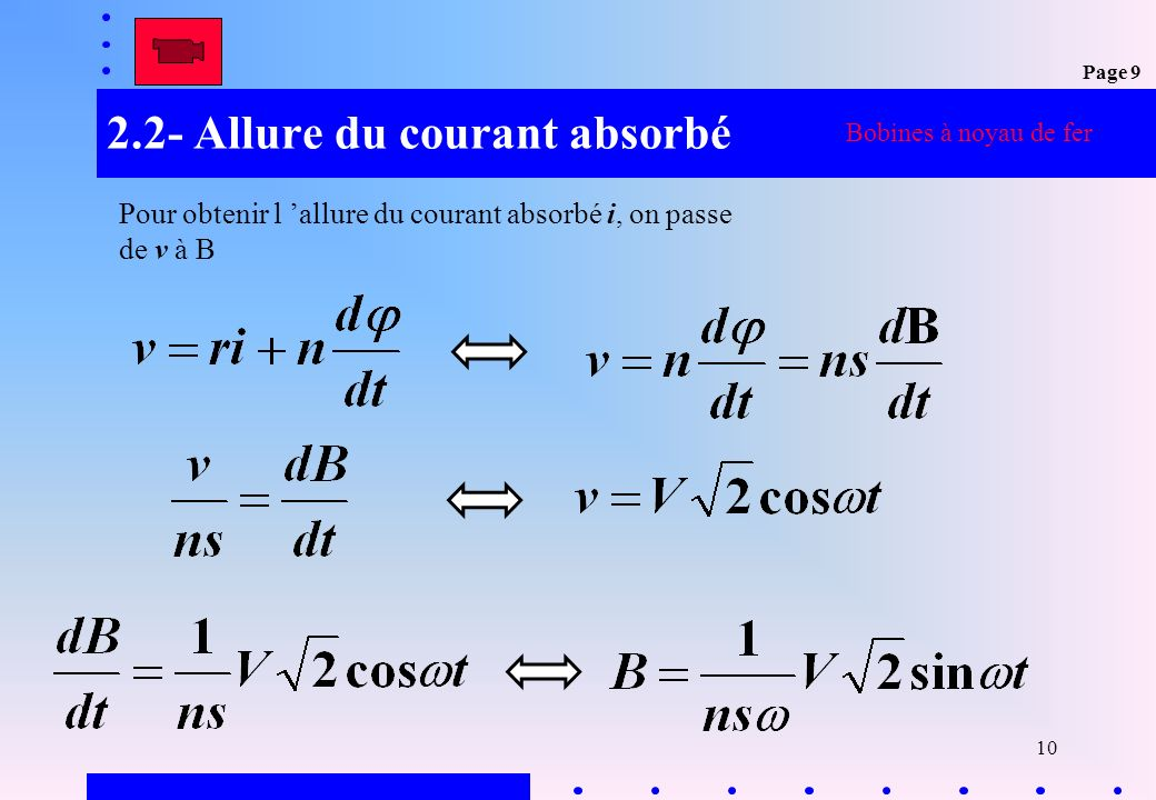 2.2- Allure du courant absorbé