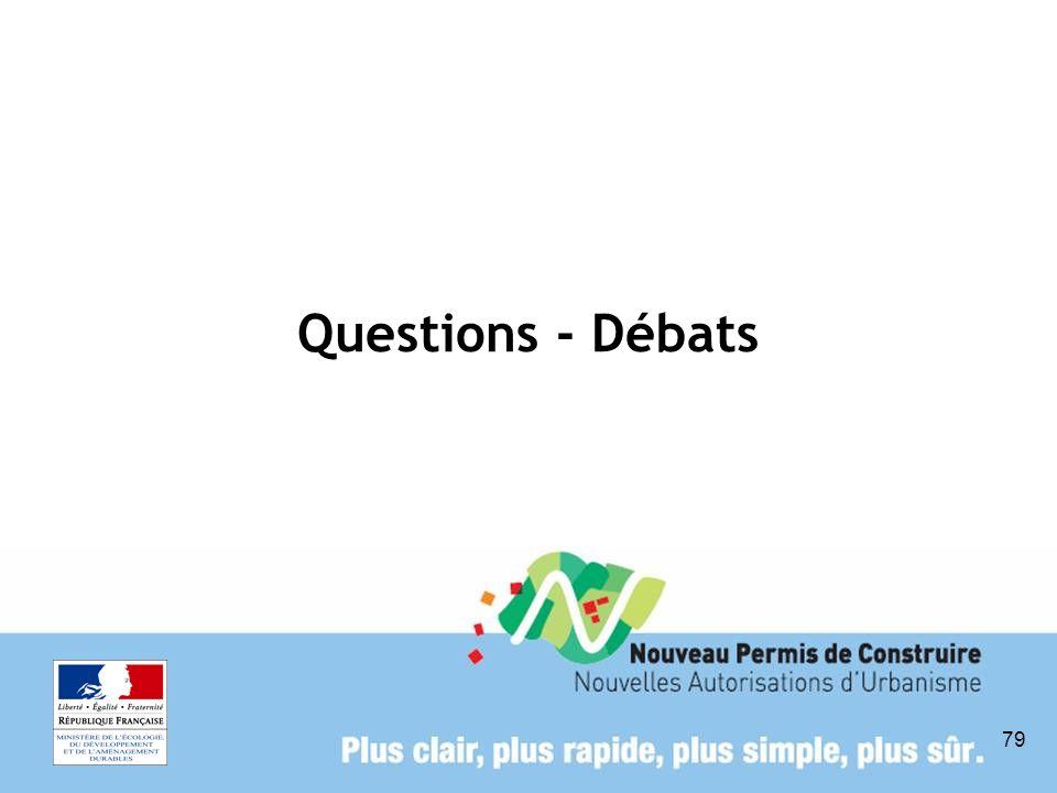 Questions - Débats