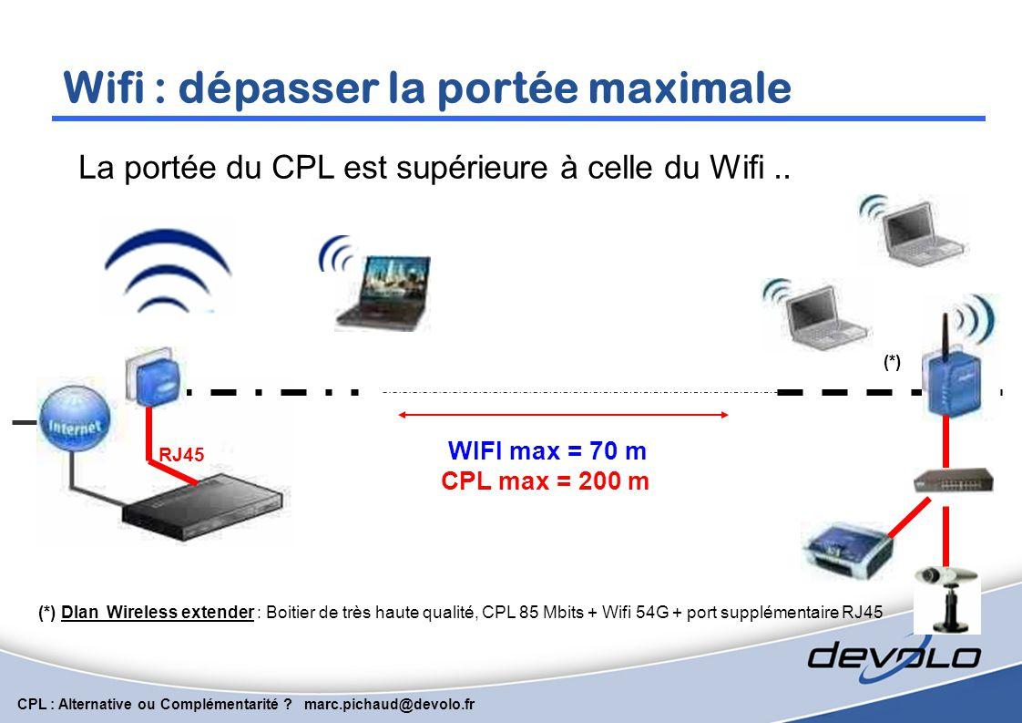 Wifi : dépasser la portée maximale