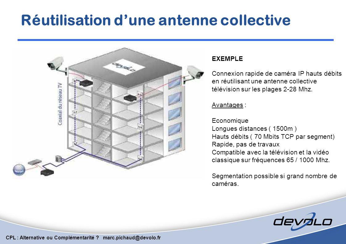 Réutilisation d'une antenne collective