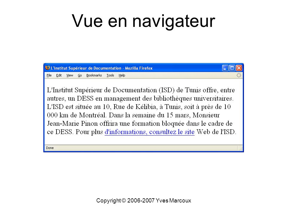 Copyright © 2006-2007 Yves Marcoux