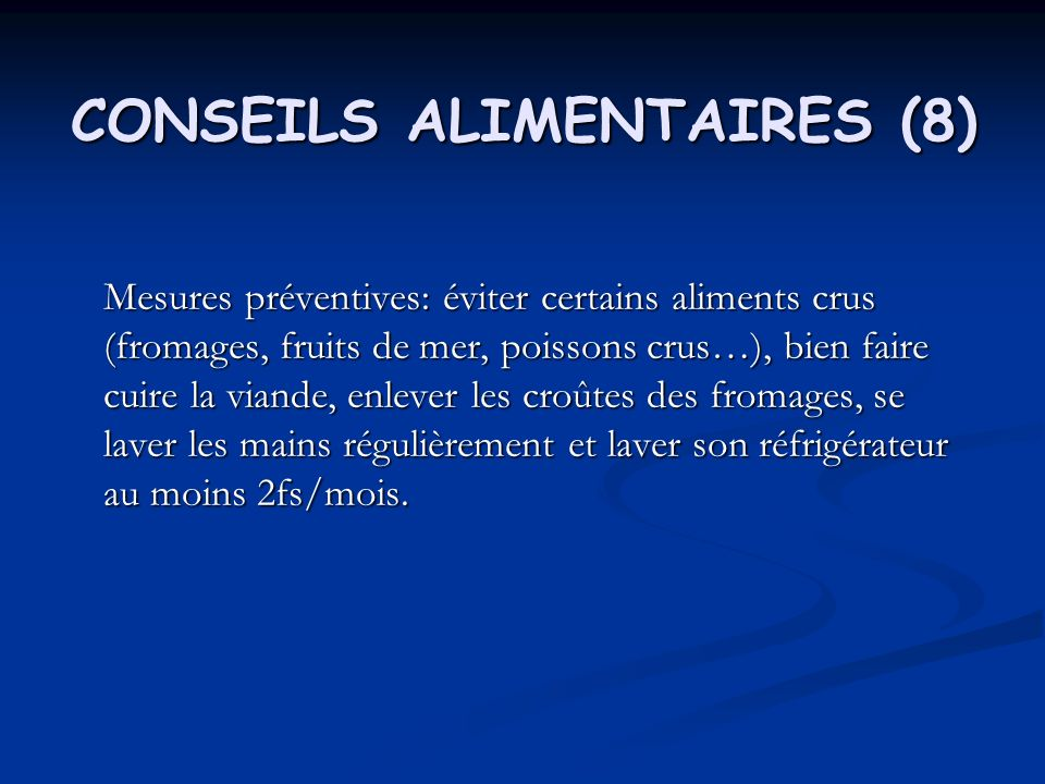 CONSEILS ALIMENTAIRES (8)