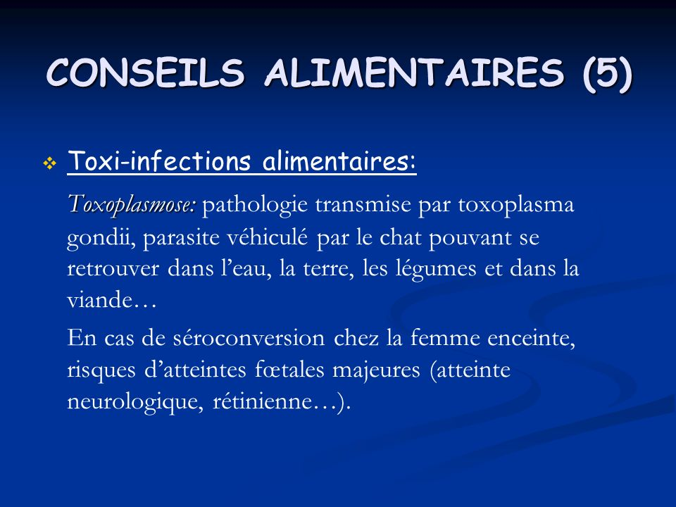 CONSEILS ALIMENTAIRES (5)