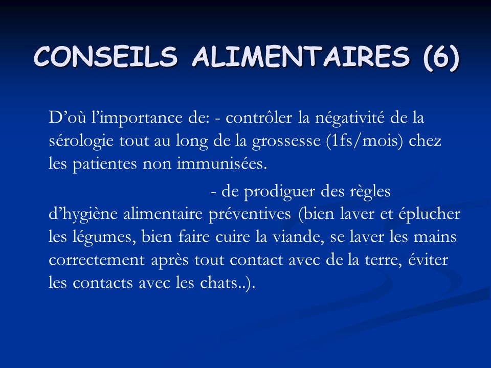 CONSEILS ALIMENTAIRES (6)