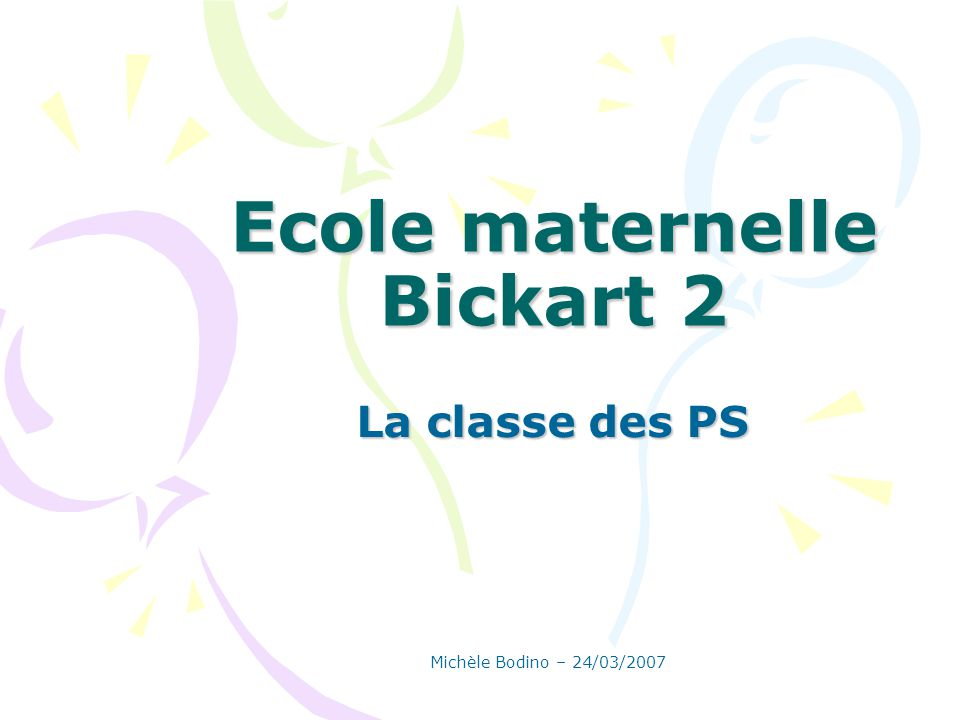 Ecole maternelle Bickart 2