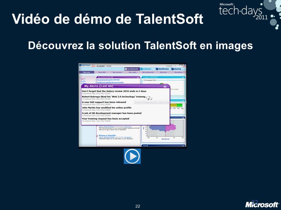 Vidéo de démo de TalentSoft