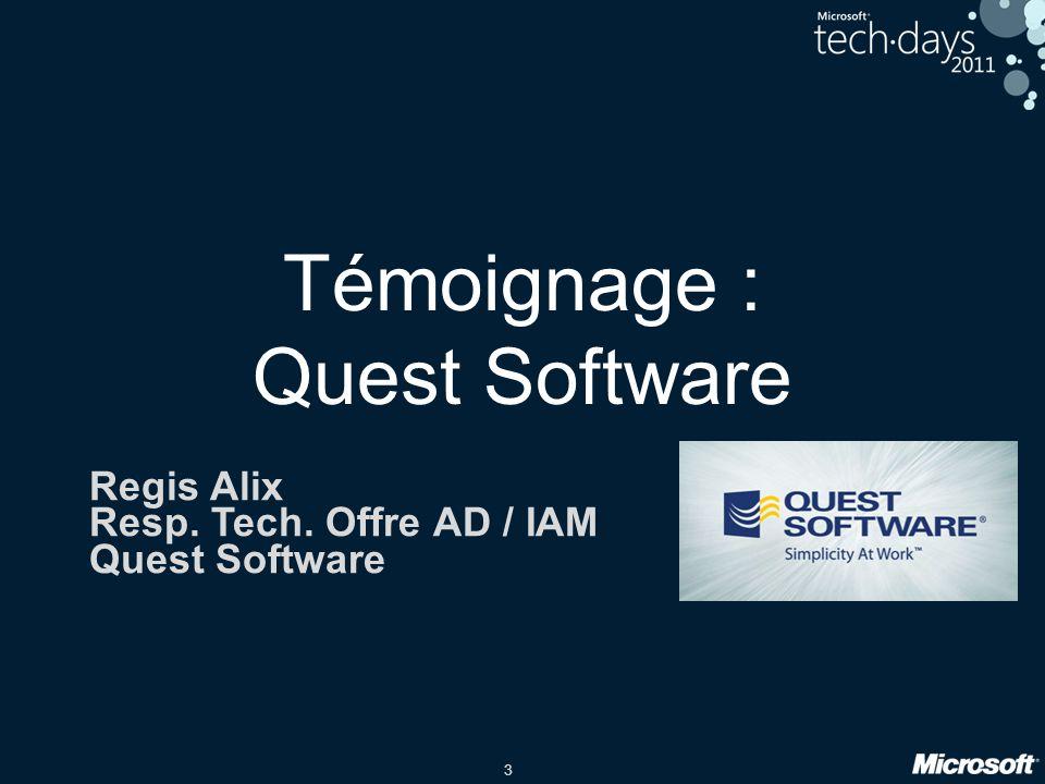 Témoignage : Quest Software