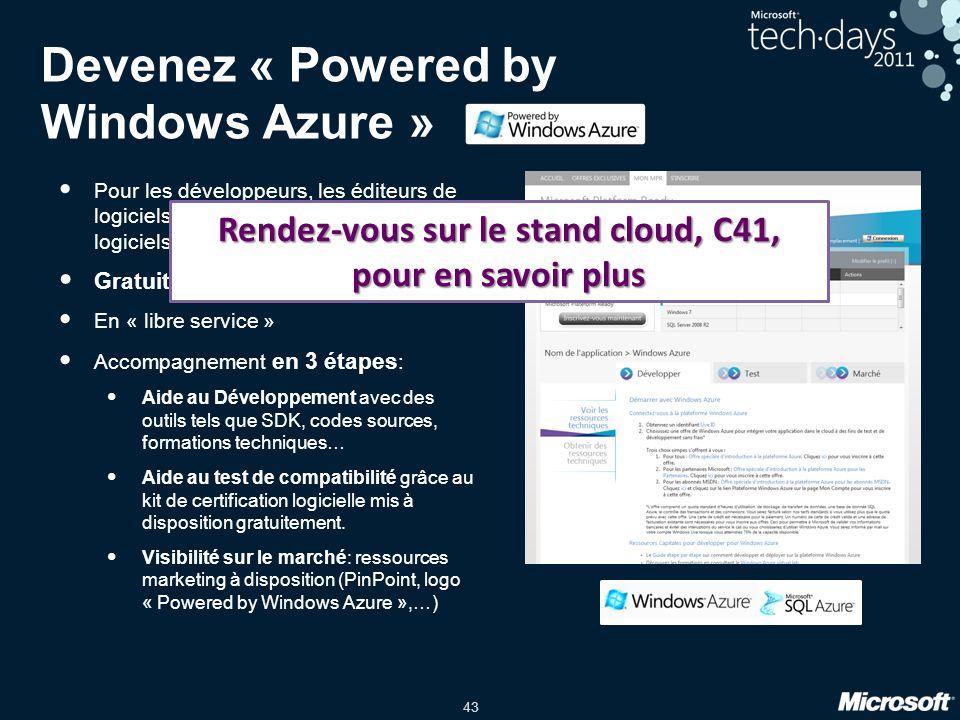 Devenez « Powered by Windows Azure »
