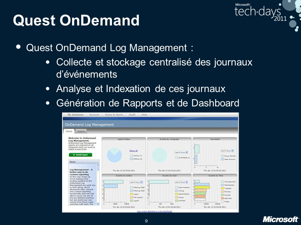 Quest OnDemand Quest OnDemand Log Management :