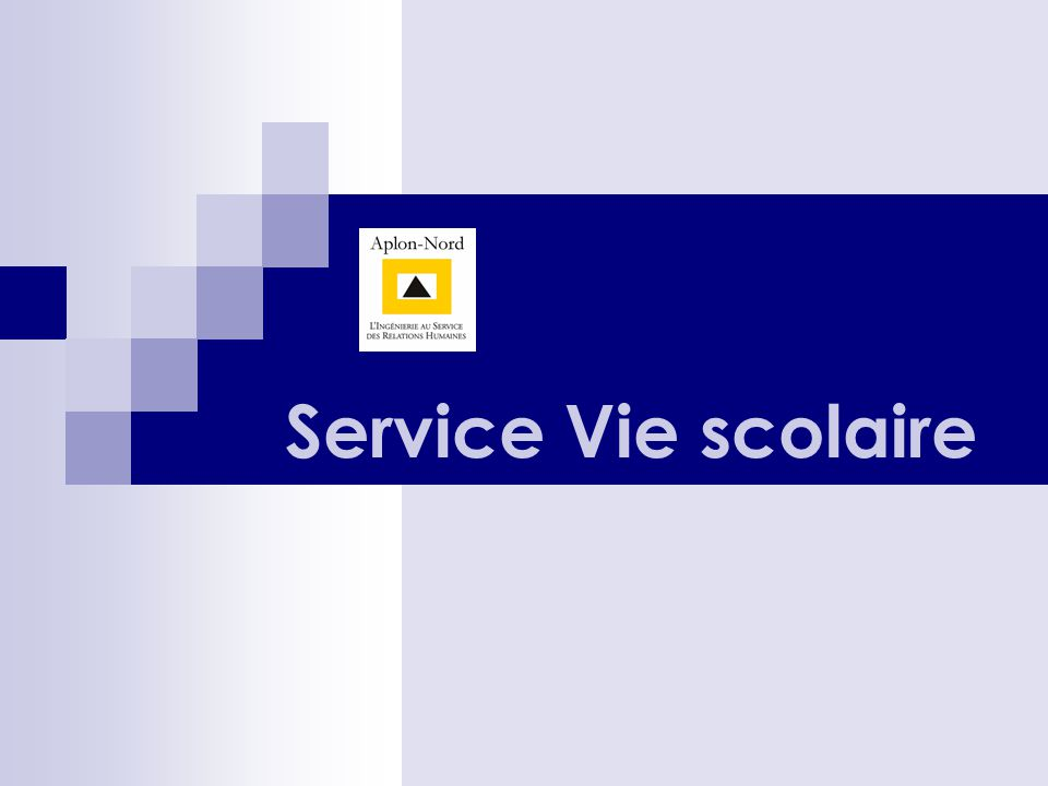 Service Vie scolaire