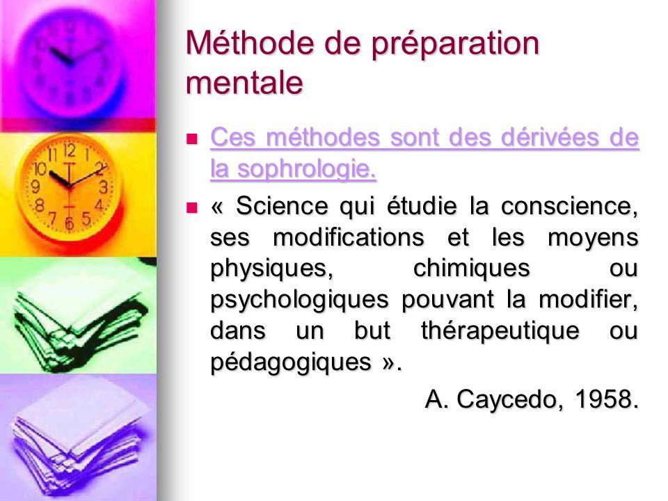 Méthode de préparation mentale