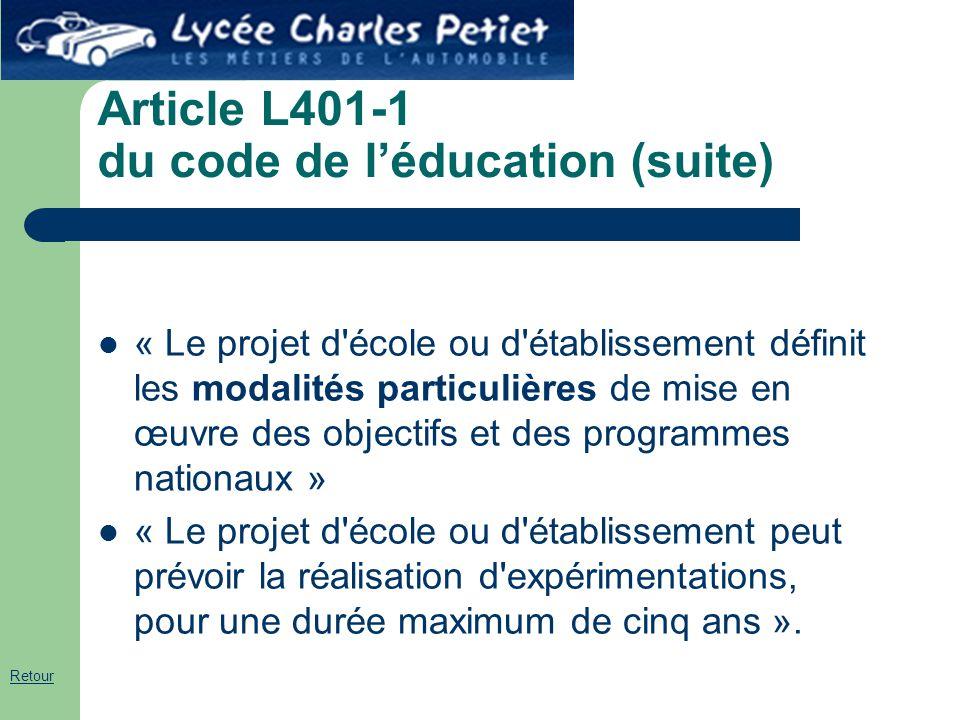Article L401-1 du code de l'éducation (suite)