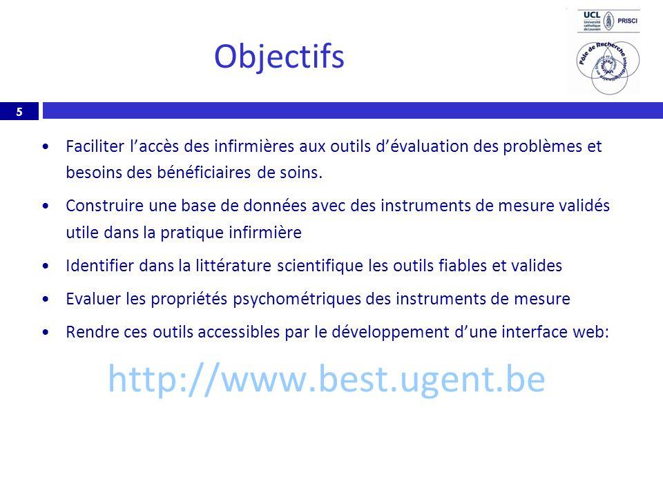 http://www.best.ugent.be Objectifs